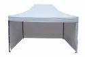 Quick Foldable Gazebo Tent-15''x10''-Side Wall-Heavy Duty-White