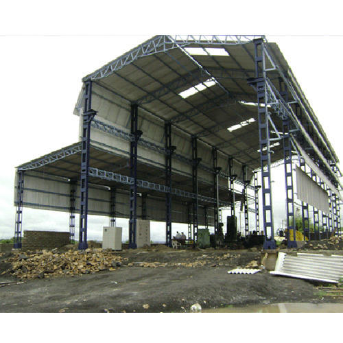 Balaji Roofing Steel Prefabricated Industrial Shed Id 11683320091