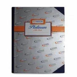 Trison Platinum  Notebook (384 Pages)