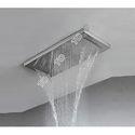 Full Brass Rain Shower With Water Falls