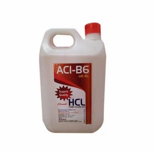 ACI-B6 Liquid Hydrochloric Acid Toilet Cleaner, Rs 20 ...