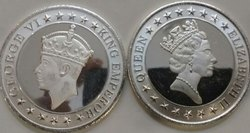 Personalised Silver Coins