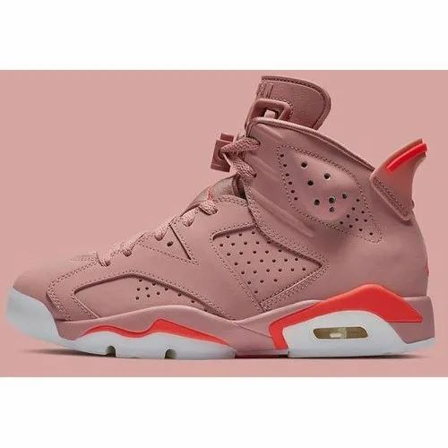 new concept 977e5 28518 Nike Air Jordan 6 Millennial Pink Shoes