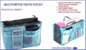 Multipurpose Travel Pouch