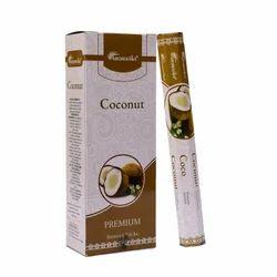 Aromatika Hexa Pack Incense Stick-20 - Coconut
