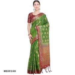 Fancy Kanjicaram Silk Saree