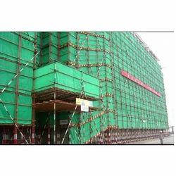 Green HDPE Construction Net