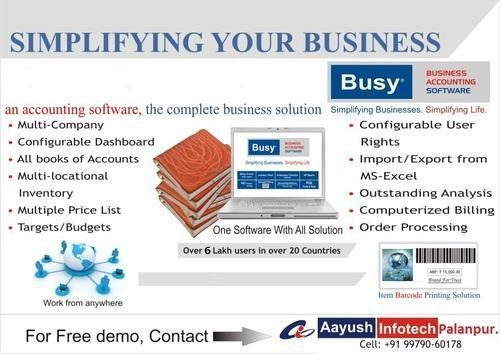 Busy Accounting Software : Enterprise Edition