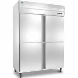 4 Star Direct Cool HOSHIZAKI Four Door Vertical Refrigerator, -18 To 4 Degree C, Capacity: 300 Litre