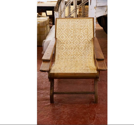 Burma Teak Wood Easy Chair Antique Furniture Mattancherry