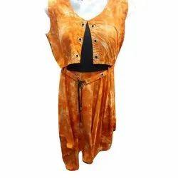 Rayon Ladies Fancy Printed Long Top, Size: XL-XXL