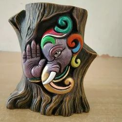 Clay Pen Holder For Promotional Gifts