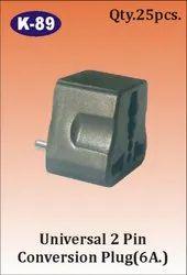 K-89  2 Pin Universal Conversion Plug