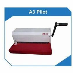 A3 Pilot Spiral Binding Machine