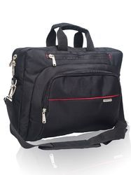 Black & Red Cosmus Wisdom Laptop Bag