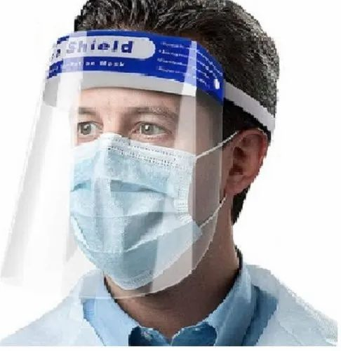 Protective face shield for COVID-19