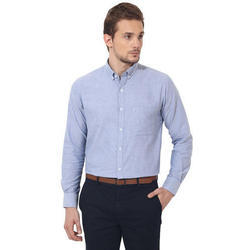 Mens Plain Oxford Shirt