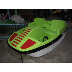 FRP Car Model Pedal Boat