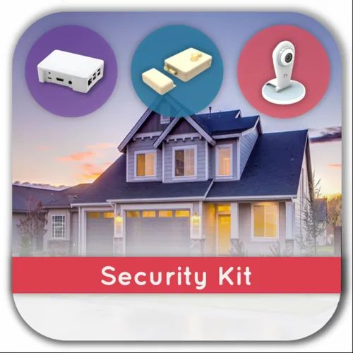 Basic Home Security Kit With Smart Lock and Camera