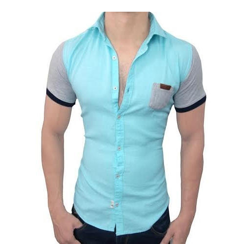 Men's Half Solid Shirts