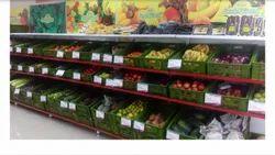 Supermarket Fruits & Vegetables Racks