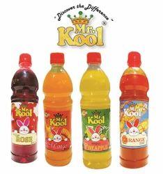 Mr.Kool Fruit Juice & Syrup, Packaging Type: Pet Bottles, Liquid
