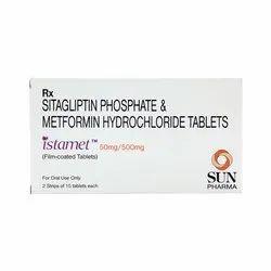 Istamet Sitagliptin Phosphate And Metformin Hydrochloride Tablets