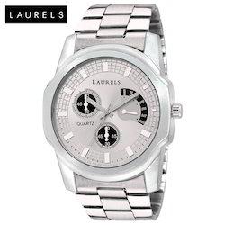 Laurels Matrix Silver Dial Men's Watch