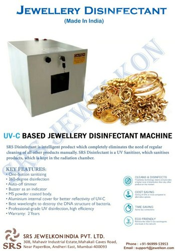 UV Based COVID-19 Jewellery Disinfectant