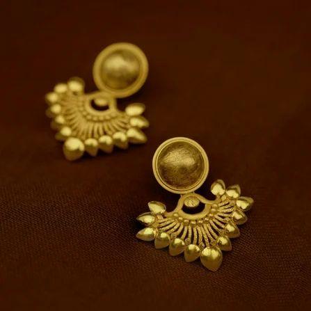 Pc Jeweller The Ujwala Women Gold Earrings