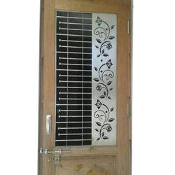 Stainless Steel Main Door Grill At Rs 900 Square Feet Stainless