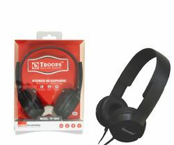 Troops Tp- 7043 Stereo Headphone