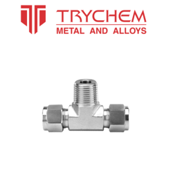 TRYCHEM Stainless Steel and Brass Stainless Steel Male Branch Tee, Size: 3/4 inch and 2 inch