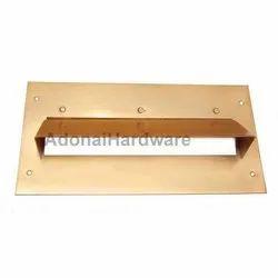 Plain Iron Letter Box