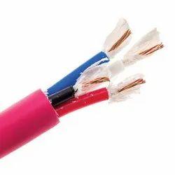 Color: Red Pvc LT Control Cables, Fire Survival, 1100 Volt