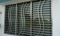 Polish Stainless Steel window grill