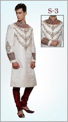 Designer Embroidered Sherwani For Wedding