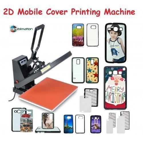 premium selection de2f4 aeb76 Heat Press Mobile Back Cover Printing Machine Double Bed