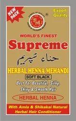 Supreme Herbal Soft Black Henna Mehandi