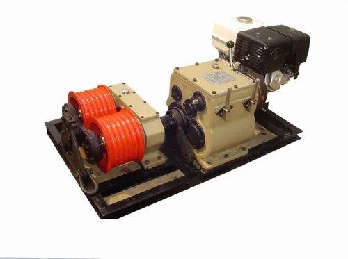 Amico Double Capastan Winch Machine, Capacity: 5 Ton