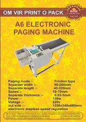 A6-ELECTRONIC PAGING  MACHINE