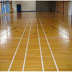 Wooden Basketball Court Flooring Service