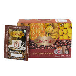 Zingysip Fruit Combo Coffee -Mango Orange Banana Lemon
