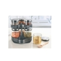Brosil BVSPST06037 Spin N Store With Classic Glass Jars