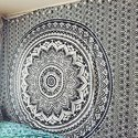 King Ombre 108 Mandala Wall Hanging Tapestries