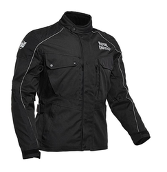 Medium And 2XL Black Safari Touring Jacket