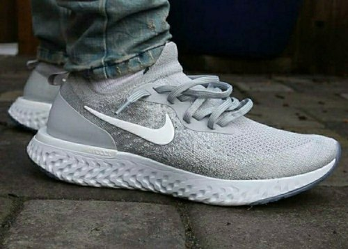 Low Ankle Grey Nike Epic React Shoes