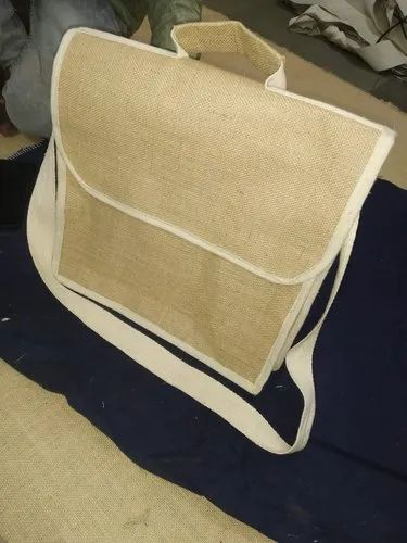 Cotton Nivar Jute Office Bag, For Promotion