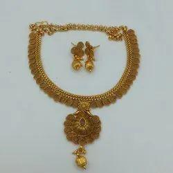 Karishma Kreations Copper Jewellery Set - 666