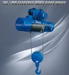 Damar Electric Wire Rope Hoist, For Industrial, Load Capacity: 1 Ton - 5 Ton